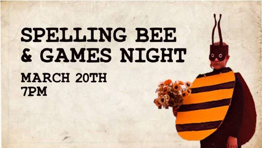 Games Night and Spelling Bee at Cornerstone Taphouse