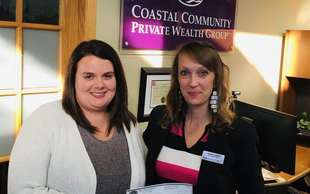 Thank you Coast Community Credit Union