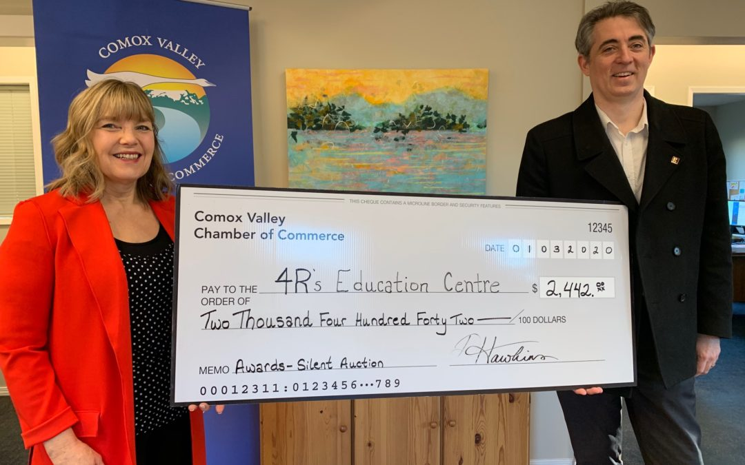 Thank you Comox Valley Chamber of Commerce
